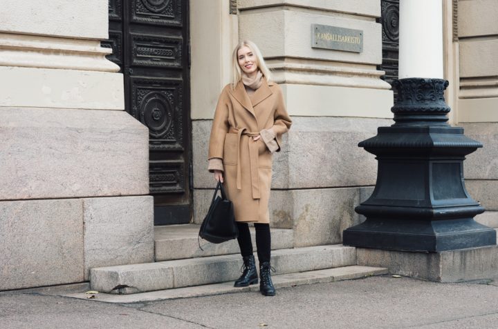 Shothecurated Camel Coat Style Plaza19