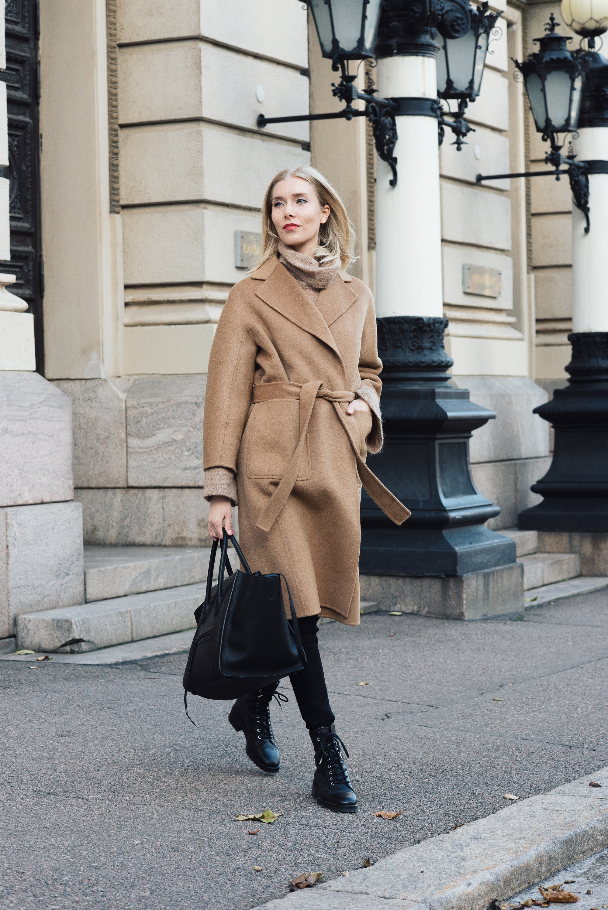 Shothecurated Camel Coat Style Plaza6