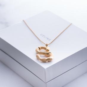 How To Order Celine Alphabet Necklace2