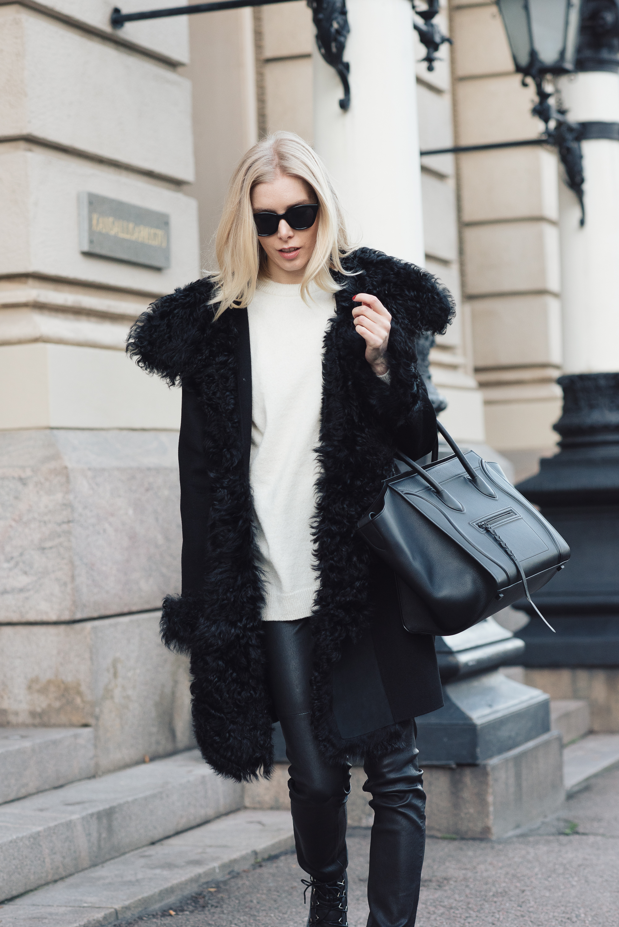 Style Plaza Lamb Fur Coat 6