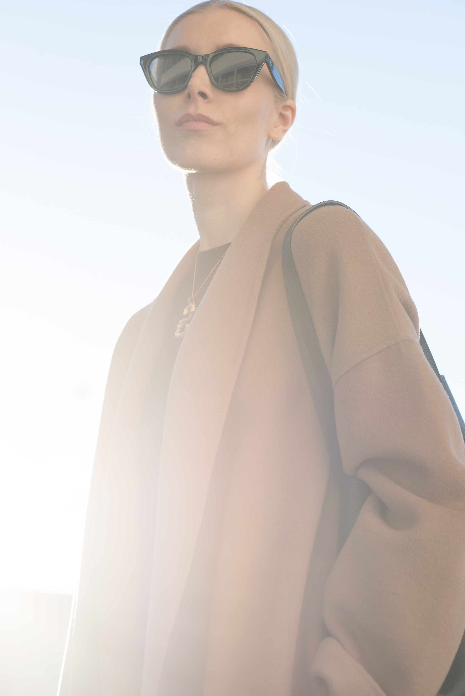 Vicolo Coat Nordic Blogger Style Plaza25