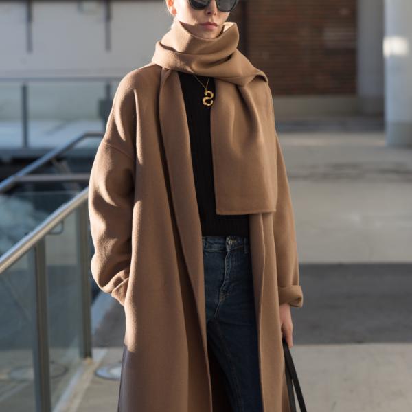 Vicolo Coat Nordic Blogger Style Plaza37