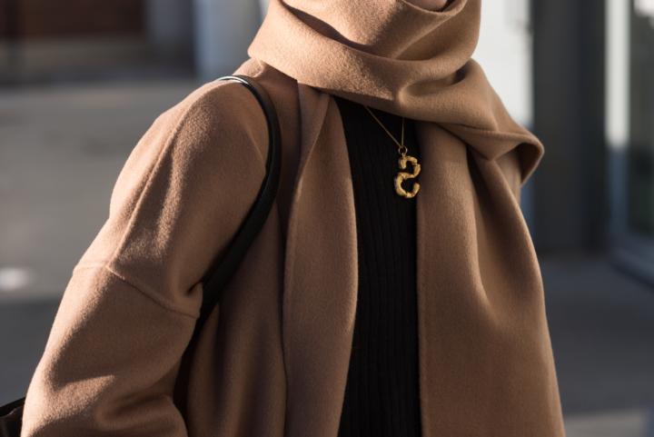 Vicolo Coat Nordic Blogger Style Plaza38