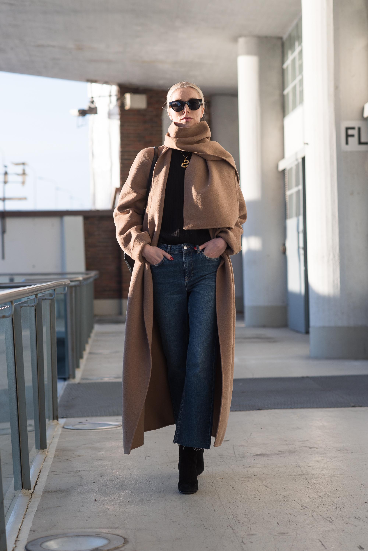 Vicolo Coat Nordic Blogger Style Plaza39