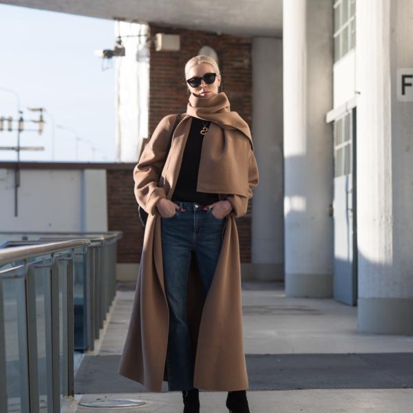 Vicolo Coat Nordic Blogger Style Plaza41