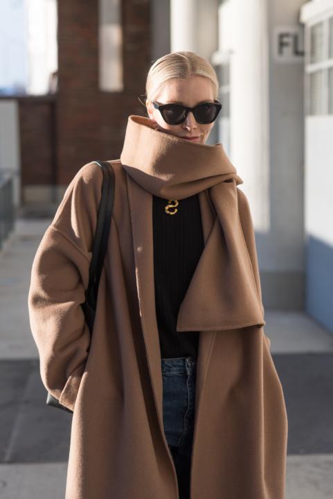 Vicolo Coat Nordic Blogger Style Plaza45