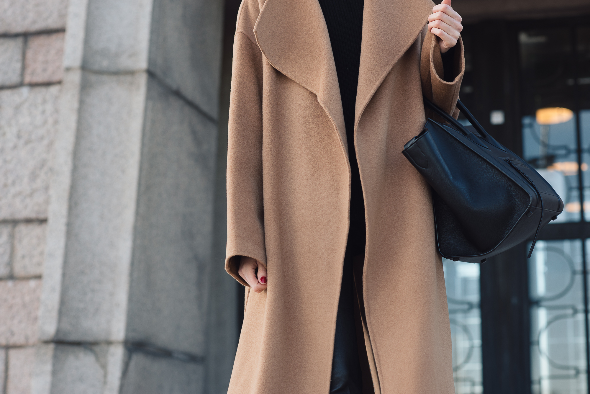 Style Plaza Curated Wrap Coat24