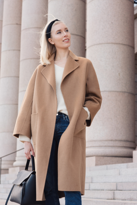 Style Plaza The Curated Camelcoat 36