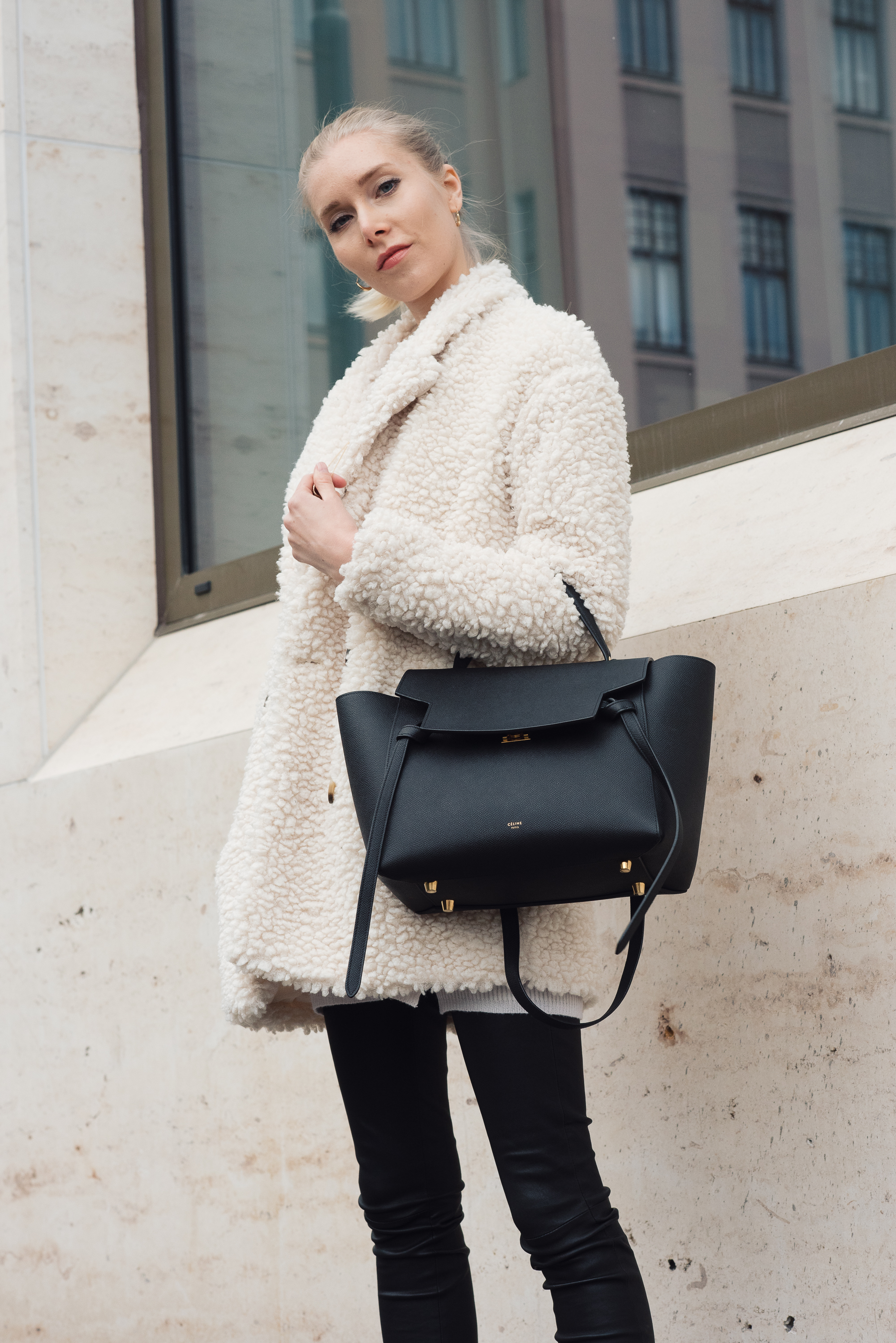 Style Plaza White Coat Outfit9