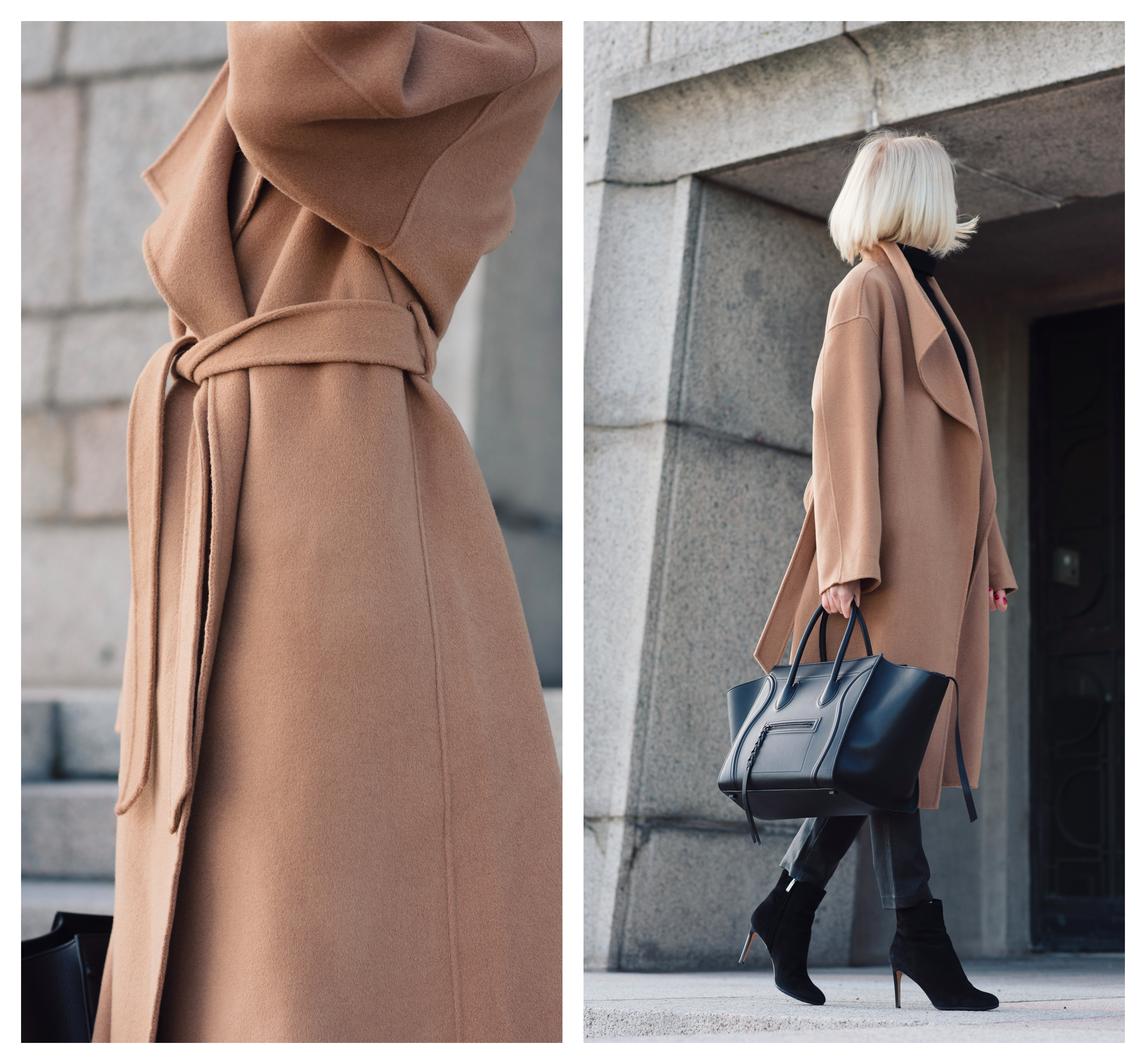 The Curated Wrap Camel Coat2