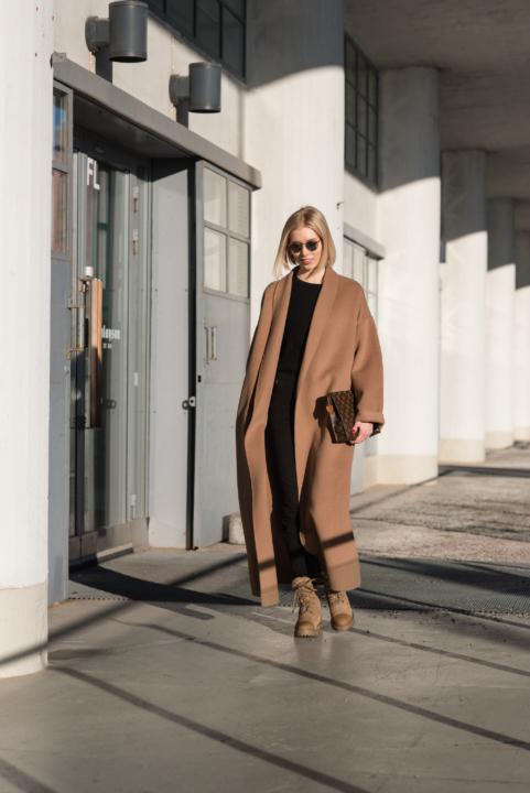 Style Plaza Camel Coat 5 1