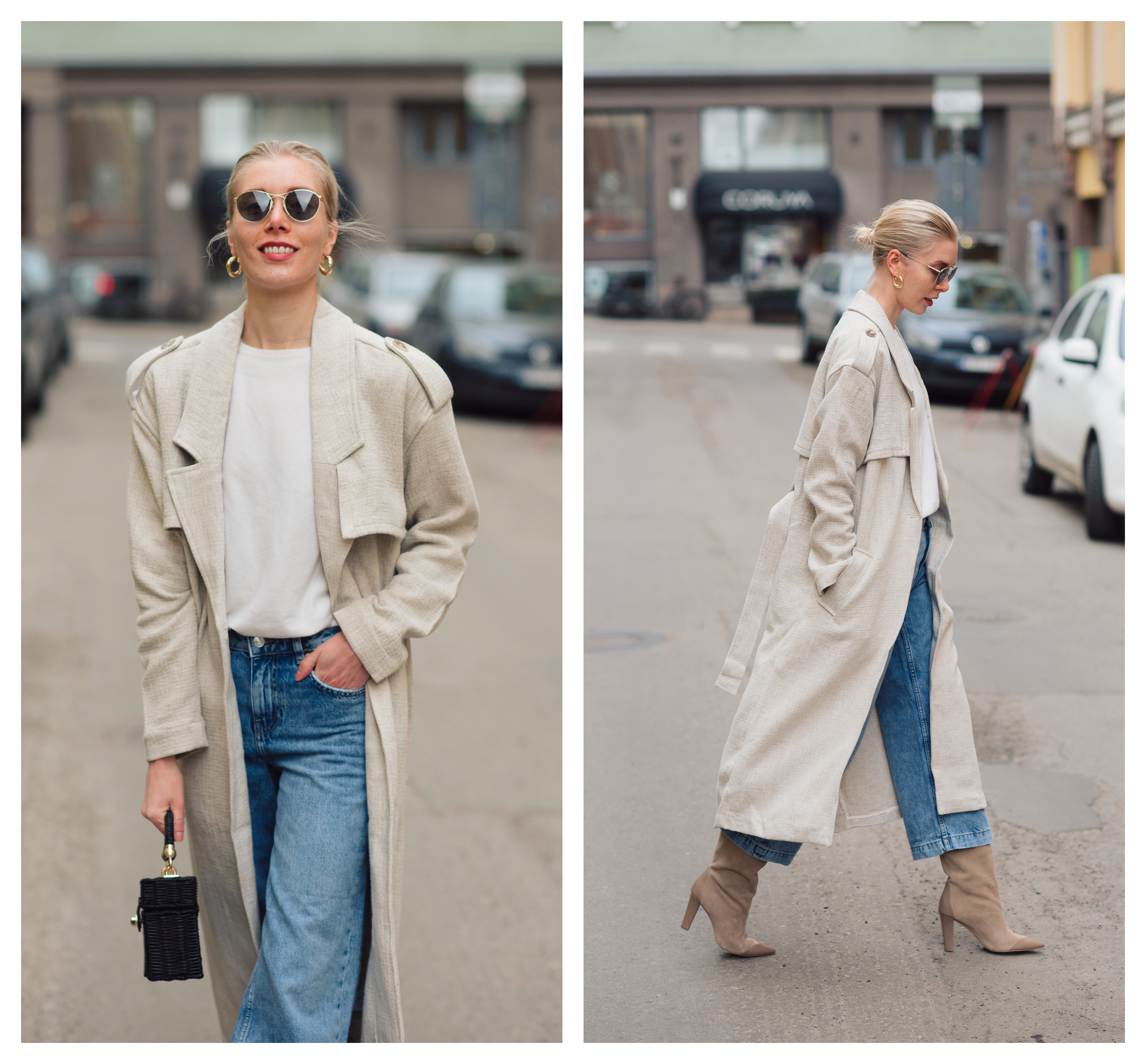 Style Plaza Linen Trench1 1