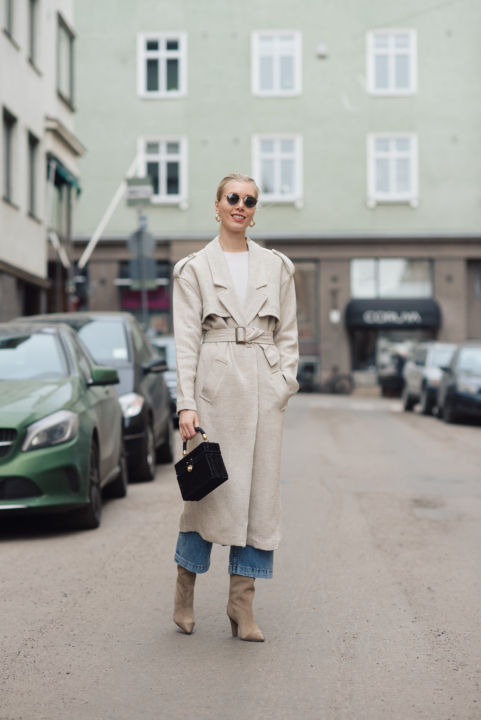 Style Plaza Linen Trench39