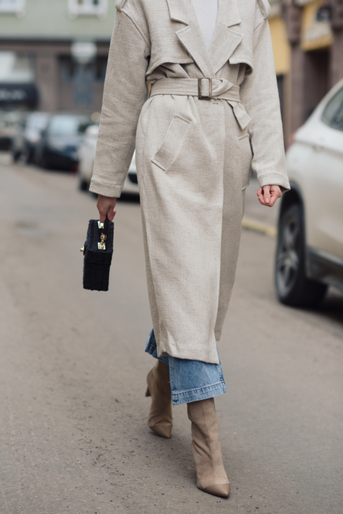 Style Plaza Linen Trench41