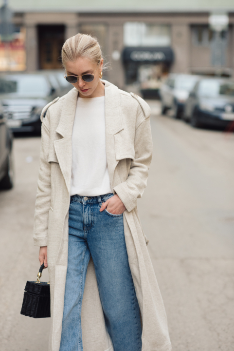 Style Plaza Linen Trench42
