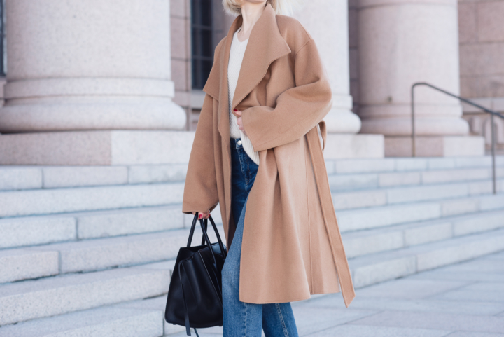 Style Plaza The Curated Camel Coat 11
