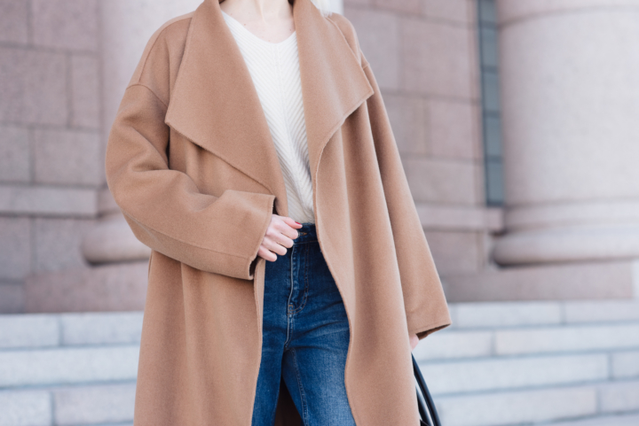 Style Plaza The Curated Camel Coat 15