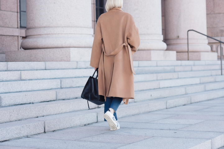 Style Plaza The Curated Camel Coat 16