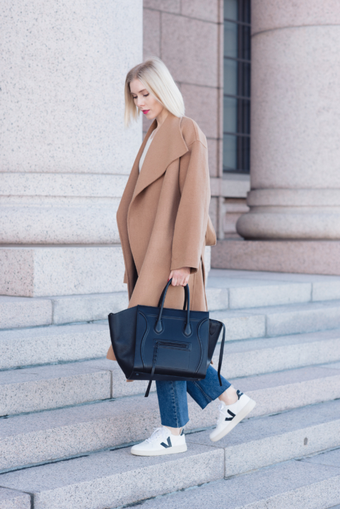 Style Plaza The Curated Camel Coat 6