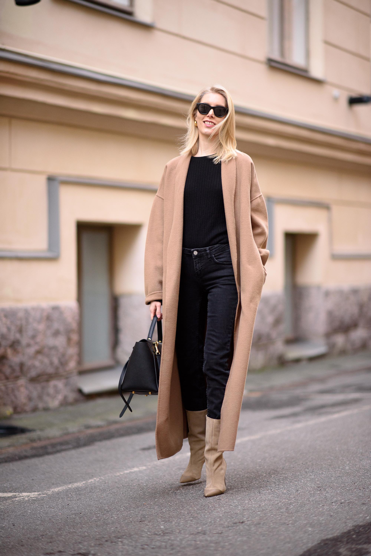 Style Plaza Camel Coat