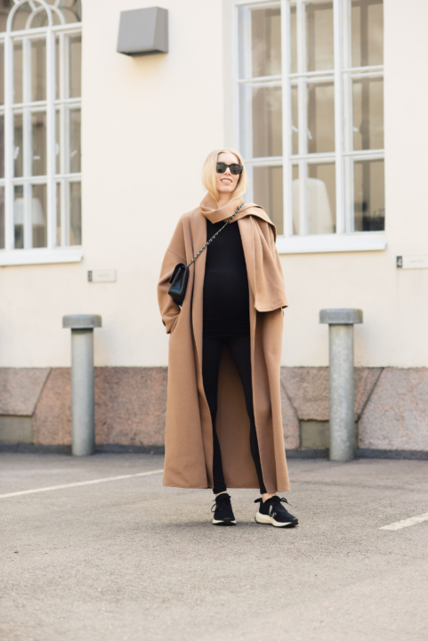 Style Plaza Camel Coat5