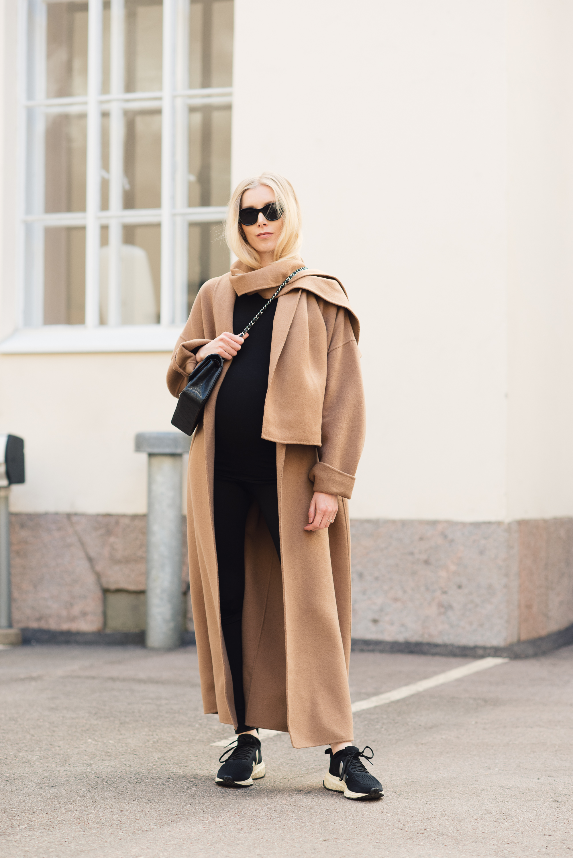 Style Plaza Camel Coat6