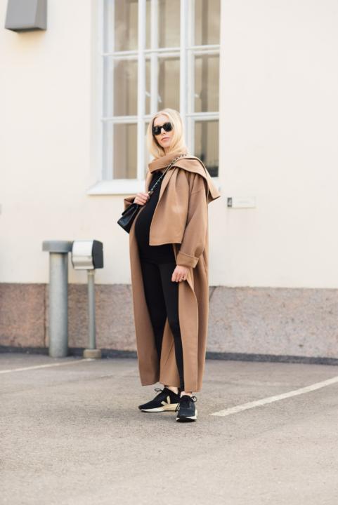 Style Plaza Camel Coat7