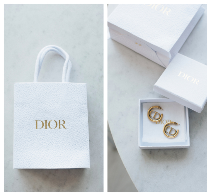 Style Plaza Dior Hoop Earrings