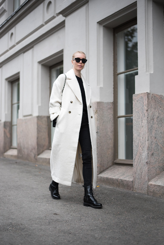 Style Plaza Long White Coat6